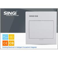 Quality MCB power electrical distribution box SINGI brand GNB 3007 7 ways ivory-white color power distrbution box wholesale