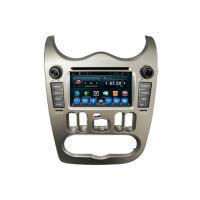 Quality Auto DVD Radio Player Car GPS Navigation System for  Logan with Usb GPS Wifi wholesale