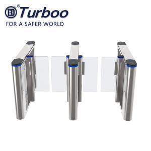 Quality Security Speed Gate Turnstile , RFID Face Recognition Turnstile Barrier 220V wholesale