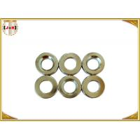 Quality Nickel Finish Sew On Magnetic Button Clasp 18mm Diameter Die Casting Products wholesale