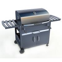 China 36``deluxe full cart charcoal cold rolled sheet BBQ Grill Adjustable Height on sale