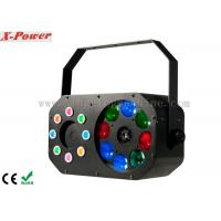 Quality 8 x 3W Disco Party Lights Gobo Effect With Laser RGBW / Built-in Programmer wholesale