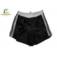Quality Plain Black Nylon Womens Board Shorts For Running / Surfing Sports Customized wholesale