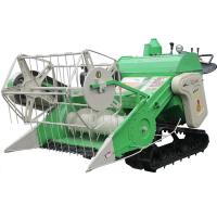 China Rice and Wheat Full Feeding Combine Harvester 4LZ-0.9L on sale
