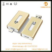 China Wholesale low price otg usb flash drive mobile phone usb disk 32gb flash drive for iphone on sale