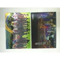 Quality Full Color Printing 0.6 MM PET 3d Lenticular Card With Pearlised Film wholesale
