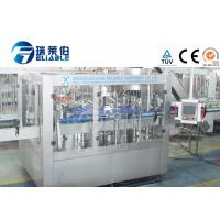 China 3 In 1 Glass Bottle Production Line Machinery Soda Water / Carbonated Soft Drink on sale