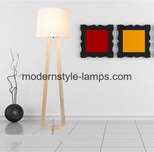 Generous Interior Modern Wood Lamp 110 - 240V Voltage Facade Floor Lamp
