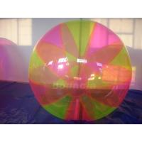 Quality Colorful Inflatable Water Ball , Inflatable Water Bubble For Water Games wholesale