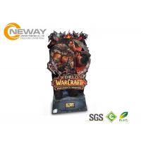 Quality Recycled Cardboard Display Stands , Free Standing Display For Toy Advertising wholesale