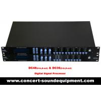 Quality Concert Sound Equipment / 4 input , 8 ouput Digital Signal Processor For Line Array Speaker System wholesale