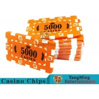Quality Custom Design Cheap Casino Poker Chips , ABS Plastic Numbered Poker Chips  wholesale