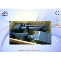 Buy cheap 40PV - SP Centrifugal Vertical Submerged Pump , Sand Pumping Vertical Slurry from wholesalers