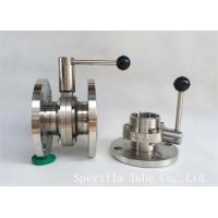 "Quality 1"" TP316L Sanitary Stainless Steel Valves And Butterfly Vavles ASTM A270 wholesale"