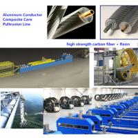 Quality Pultrusion Machine Line for  Composite carbon fiber core of Conductor Trapezoidal Wires wholesale