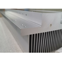 204mm Width Off Grid Inverter Aluminium Heatsink Extrusion With Anodized for sale
