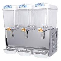 Quality 18LX3 320W Beverage Cold Drink Dispenser / Automatic Stainless Steel Hot And Cold Dispenser wholesale