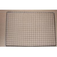 China Uniform Weave Stainless Steel Bbq Grill Mesh Round Roast Net No Static Charge on sale