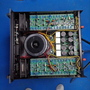 China 106db 3U Professional Digital Echo Mixer Power Amplifier on sale