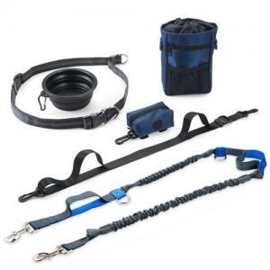 Quality amazon FBA print heat transfer sublimation dog cat pet bungee leash collar harness wholesale