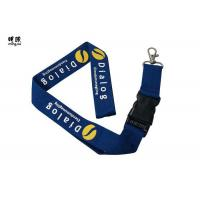 Quality Custom Design Safety Breakaway Id Lanyard For Women , Pretty Visitors Badges Lanyards wholesale