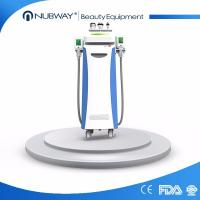 China Beauty equipment cryo liposuction fat freeze cryolipolysis + 40K cavitation + RF body slimming machine on sale