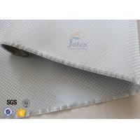 Quality Aluminized Plated Fiber Glass Cloth Decoration Silver Coated Fiberglass Fabric wholesale