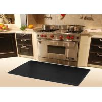 eco friendly black large kitchen sink floor mat anti
