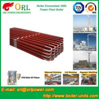 Quality 100 Ton Natural Gas Boiler Economiser In Thermal Power Plant Non Toxic wholesale