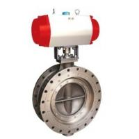 China 3 Way Ball Valve Stainless Steel , Shut Off  Pneumatic Actuator Butterfly Valve  on sale
