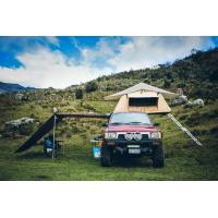 Quality Outdoor Car Roof Shade Awning , Roof Rack Shade Awnings For 4x4 Vehicles wholesale