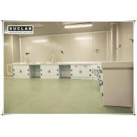 Buy cheap Acid And Alkali Resistant Chemical Lab Furniture PP Countertop With Base Cabinet from wholesalers