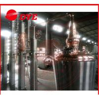 Quality 500l red copper whisky/vodka plate still wholesale