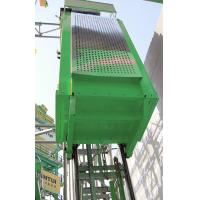 Cheap Vertical Single Car 300kg Capacity Industrial Lift , Construction Elevator for sale