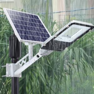 China 6500K Waterproof Solar Powered LED Street Lights High Power Garden Lighting on sale