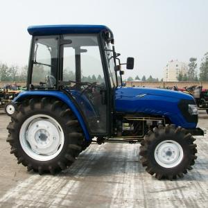 China 4×4 Wheeled Type Diesel Farm Tractors , 55hp Farm Mini Farm Tractor OEM Brand on sale