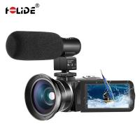 China High Definition Digital Camcorder IR Night Vision Mini DV Camcorder 2.7K Full HD 30MP 18X Digital Zoom video Camcorder on sale