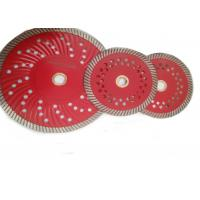 Quality D125mm Granite Diamond Turbo Saw Blade with Cooling Holes wholesale