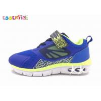 Quality Boys Light Up Tennis Shoes , Sport Running Shoes Non Sew Technique Upper wholesale