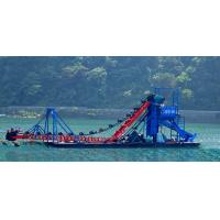 2015 new chain bucket gold dredging machine
