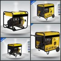 Quality Open Type Gasoline Generator Set  0.65 KVA - 13.8KVA Single Phase Electric Starter wholesale