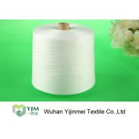 Quality Raw Virgin 100 Spun Polyester Sewing Thread For Knitting / Weaving wholesale