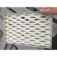 Cheap RAL 9016 White Color PVDF Coating Punching Wave Aluminum Panel Tolerance +/- 0 for sale