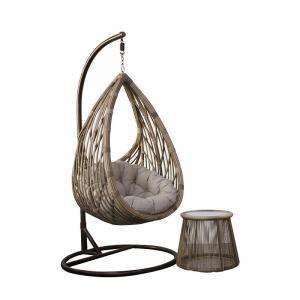 Quality 78cm Depth Rattan Hanging Egg Chair wholesale