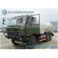 China China Dongfeng 6x6 Off-road 8000 Litres Vac Tank Truck High Performance Vacuum Tank Truck For Sale on sale