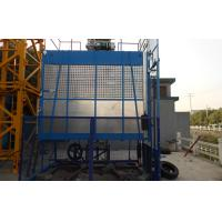 Quality Mast Hot-dip Galvanized Construction Material Lifting Hoist With SC 100 1000kg Capacity wholesale