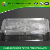 Quality Fruit  Disposable Plastic Food Containers   Pet Clamshell 5 Compartment wholesale