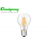 China 110v E26 7w A19 Dimmable Filament LED Light Bulbs on sale