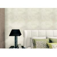 Quality Non Woven Rustic Floral Wallpaper With Printed Surface Technics , Asian Style wholesale