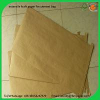 Quality BMPAPER AA GRADE CARTON KRAFT TEST LINER BOARD FOR CORRUGATED BOX BOARD  for cement bag wholesale